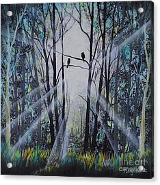 Forest Birds Acrylic Print