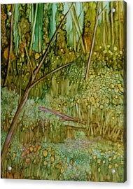 Forest Deep Acrylic Print