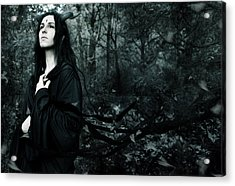 Forest Demon Acrylic Print by Cambion Art