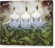 Forest Divas Acrylic Print