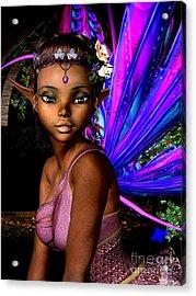 Forest Fairy Acrylic Print