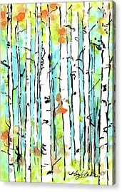 Forest For The Trees 2 Acrylic Print by Mary Benke