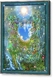 Forest Force Acrylic Print