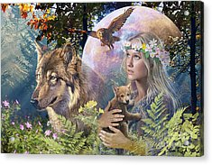 Forest Friends 2 Acrylic Print