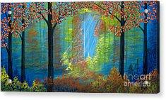 Forest Glow Acrylic Print