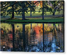 Forest Hill Reflections I Acrylic Print
