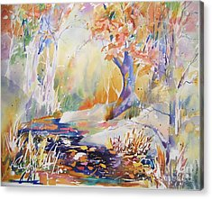 Forest Palette Acrylic Print