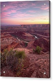 Forever Canyons Acrylic Print