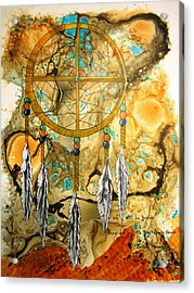 Forever Acrylic Print by David Raderstorf