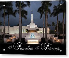 Forever Families Acrylic Print