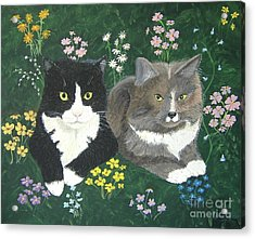 Forever Friends Acrylic Print