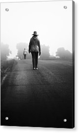 Forever Road Acrylic Print by Matthew Blum
