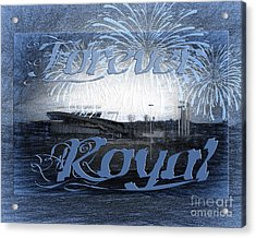 Acrylic Print featuring the photograph Forever Royal by Andee Design