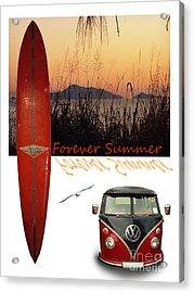 Forever Summer 1 Acrylic Print