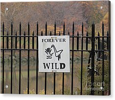 Forever Wild Acrylic Print