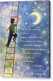 Forever Young Ladder To The Stars Acrylic Print