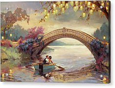 Acrylic Print featuring the painting Forever Yours by Steve Henderson