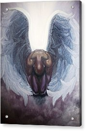 Forgiven Acrylic Print by Michelle Fayant