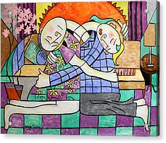 Forgiveness Acrylic Print by Anthony Falbo