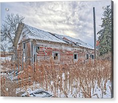 Forgotten Barn Acrylic Print
