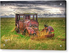 Forgotten By Time. Acrylic Print