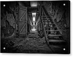Forgotten Cell Block Acrylic Print