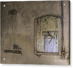 Acrylic Print featuring the mixed media Forgotten Dream by Terry Rowe