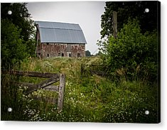 Forgotten Farm  Acrylic Print by Off The Beaten Path Photography - Andrew Alexander