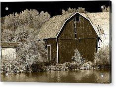 Forgotten Farm Acrylic Print by Scott Hovind