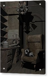 Forgotten Friend Acrylic Print by Sipo Liimatainen