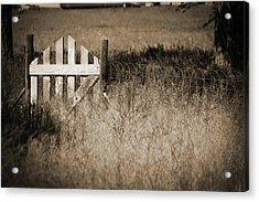 Forgotten Gateway Acrylic Print
