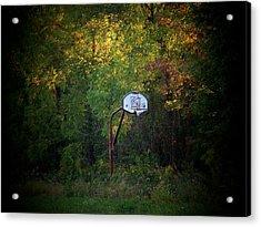 Forgotten Hoop Acrylic Print by Michael L Kimble
