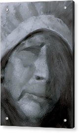 Acrylic Print featuring the painting Forgotten  by FeatherStone Studio Julie A Miller