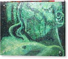 Forgotten Acrylic Print by Karla Phlypo-Price