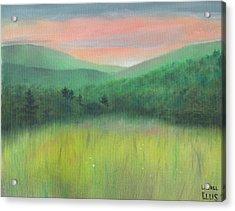 Forgotten Meadow Acrylic Print by Laurel Ellis