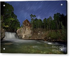 Forgotten Mill Acrylic Print by Keith Kapple