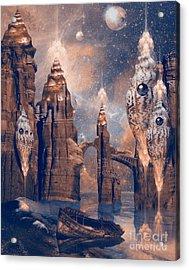 Forgotten Place Acrylic Print