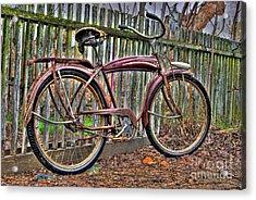 Acrylic Print featuring the photograph Forgotten Ride 1 by Jim and Emily Bush