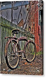 Acrylic Print featuring the photograph Forgotten Ride 2 by Jim and Emily Bush
