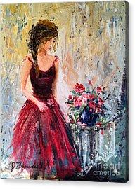Forgotten Rose Acrylic Print