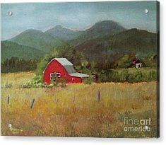 Forgotten Scene Acrylic Print