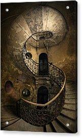 Forgotten Staircase Acrylic Print