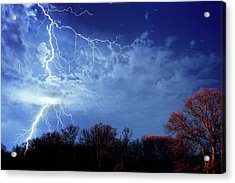 Forked Lightning Acrylic Print