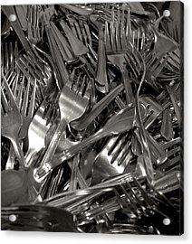 Forks Acrylic Print by Henri Irizarri