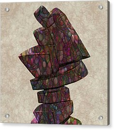 Form Sculpture Acrylic Print by Jack Zulli