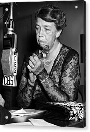 Former First Lady Eleanor Roosevelt Acrylic Print