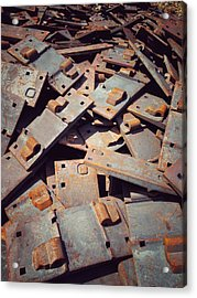 Acrylic Print featuring the photograph Former Joints by Olivier Calas