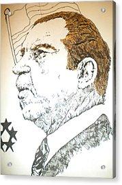Former President Nixon Acrylic Print