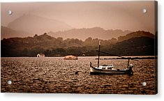 Fornells Bay In Menorca Island - Even Most Beautiful Places Have Secrets To Hide By Pedro Cardona Acrylic Print