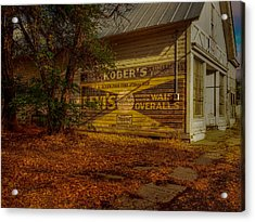 Fort Bidwell Store Acrylic Print by Michele James